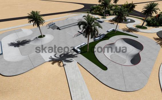 Concrete skatepark 545857