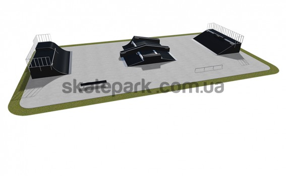 Modular skatepark 520115