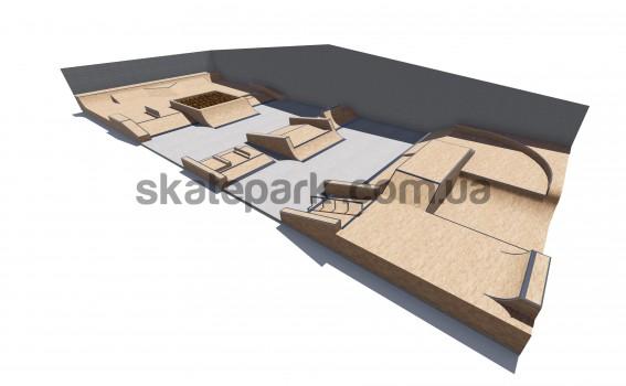 Modular skatepark 529700