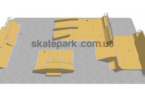 Skatepark modułowy OF2007029NW