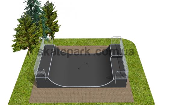 Skatepark modułowy OF2007046NW